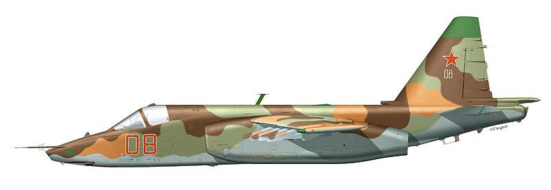 """Су-25 """"борт 08"""" ВВс Республики"""